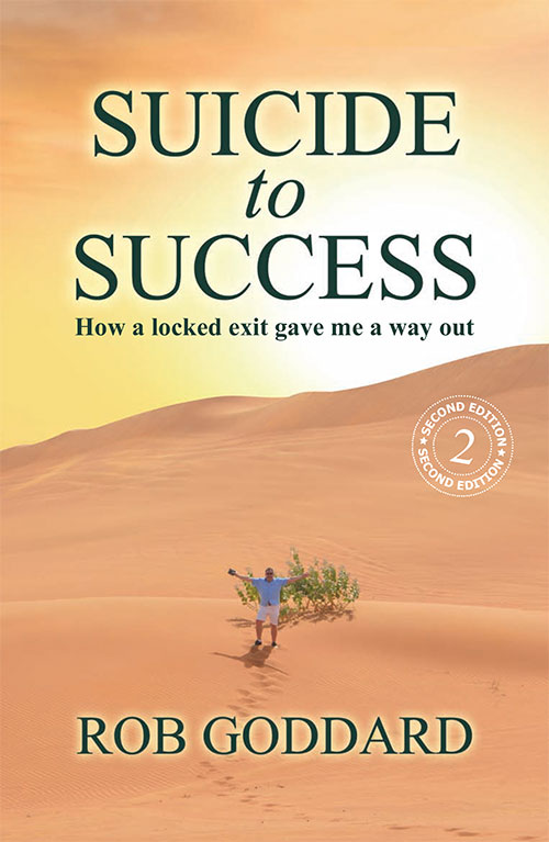 Suicide to Success Cover 2nd Edition
